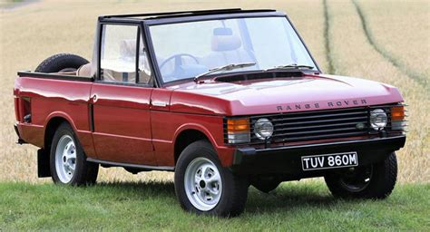 range rover where are they made they made a convertible of that retro rides