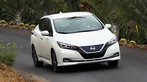 new nissan leaf range new 2018 nissan leaf 400 km range test drive