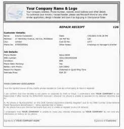 cell phone repair invoice template cell phone repair invoice template invoice template 2017