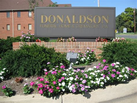 donaldson funeral home crematory p a odenton