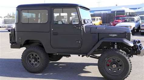 icon fj40 icon fj40 volcanic black hard top youtube