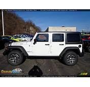 2013 Jeep Wrangler Unlimited Rubicon 4x4 Bright White