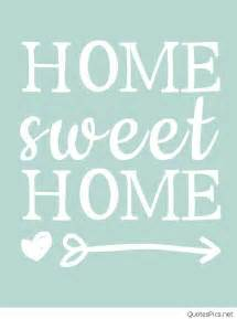 sweet home quote