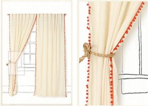 Pom Pom Curtain Panels Inspiration Anthropologie Pom Pom Curtain Operation H Pinterest
