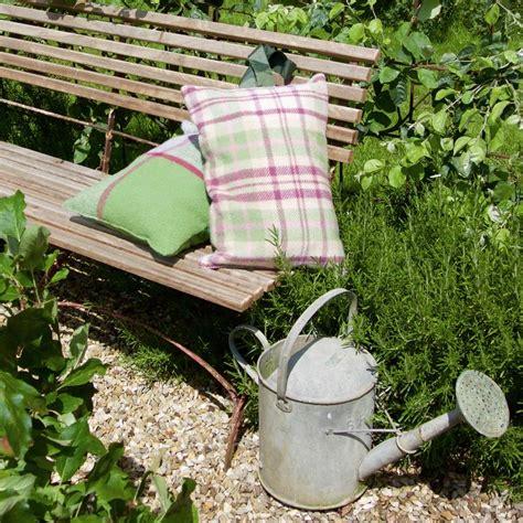 Gardening Kneeler by Wool Check Garden Kneeler Gardening Gift By Ella