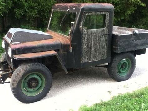 46 Willys Jeep Find Used Flathead Ford V8 Powered Willys Jeep Cj2a 45 46