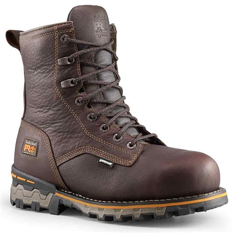 work boots for timberland timberland 8 inch boondock brown insulated work boot