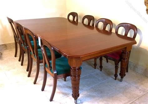 10 Seater Dining Table 10 Seater Mahogany Dining Table C 1890 Antiques Atlas