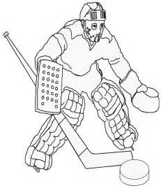 dessin de hockey sur glace