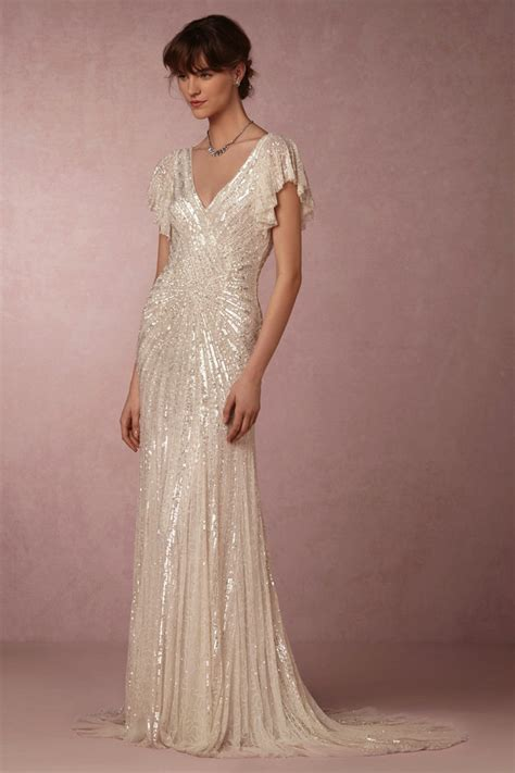 Deko Wedding by Flutter Sleeve Deco Gown Deco Weddings
