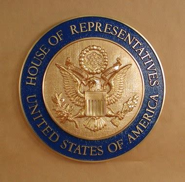house of representatives seal u s house of representatives wall seal www wallseals com