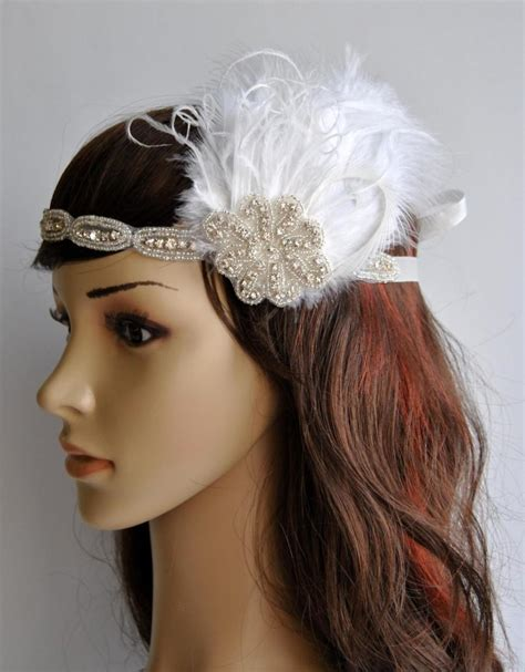 how to make a grate gatsby headpieces great gatsby feather headbands www pixshark com images