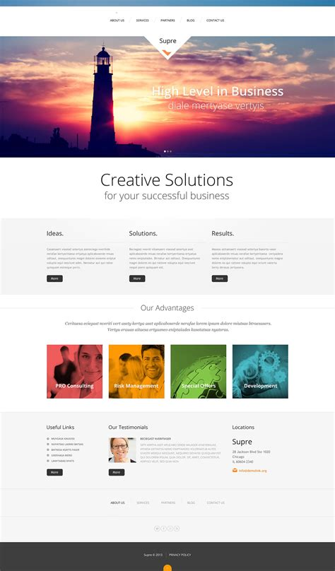 Demo Preview For Marketing Agency Responsive Wordpress Theme 47235 Digital Marketing Responsive Website Template Free