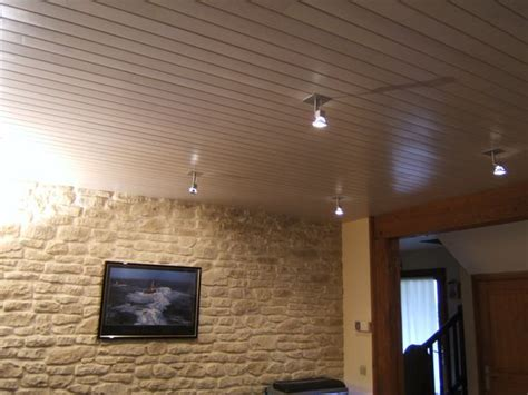 Plafond En Lambris by Lambri Pvc Cancerigene Devis Renovation Salle De Bain 224