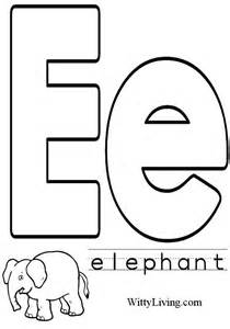 letter e coloring page coloring pages letter e crafts for to make