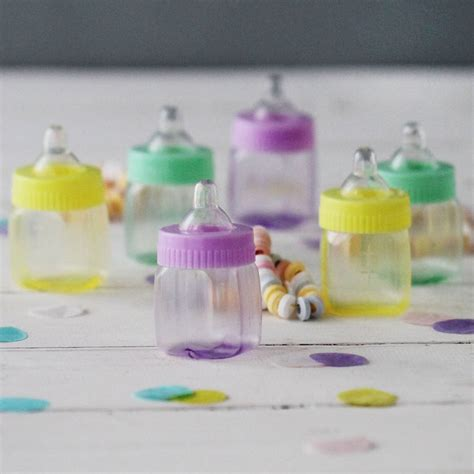Baby Shower Favoura by Baby Shower Favour Bottles By Postbox