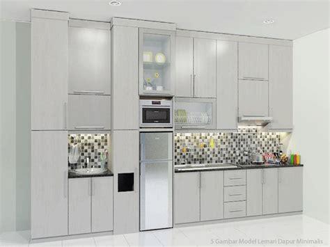 Gambar Dan Lemari Dapur 5 gambar model lemari dapur minimalis