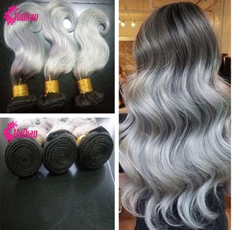 body wave on gray hair 1b grey european virgin good hair body wave 3 pcs lot