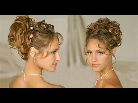 long hair hairstyle updos for curly hair wedding
