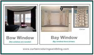 bow windows have three to six windows which are the same size this