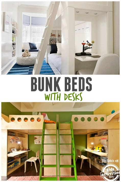 Childrens Bunk Beds With Desk by Bunk Beds With Desks