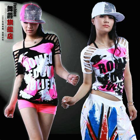 Topi Hiphop Branded Rockstar aliexpress buy new fashion brand hip hop top jazz ds costume performance wear