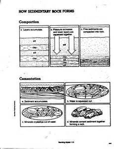 sedimentary rock worksheet davezan