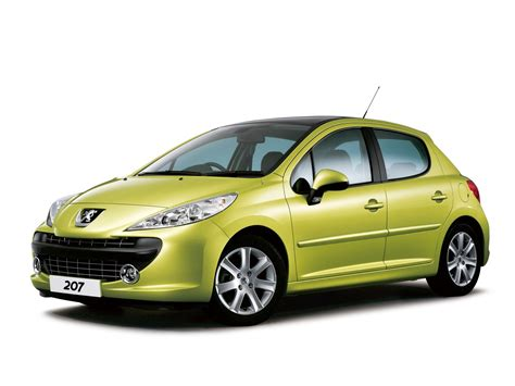peugeot door peugeot 207 5 doors 2006 2007 2008 2009 autoevolution