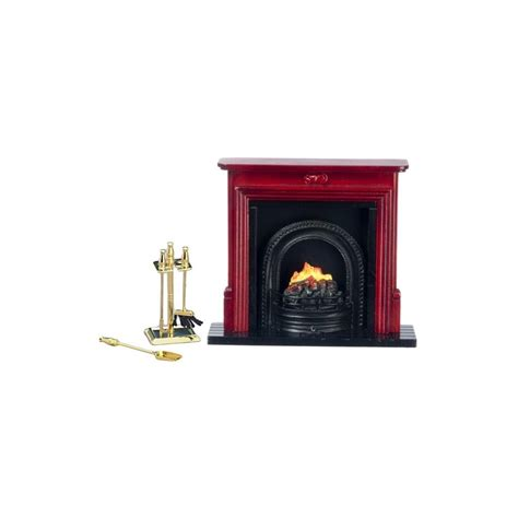 fireplaces accessories fireplace accessories set 6pc dollhouse miniature