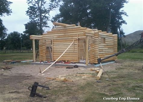 Small House Kits Montana Why Log Cabin Kits Are Not Prefab Cowboy Log Homes