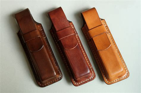 leather knife pouch mk leathers 187 knife pouch x 3