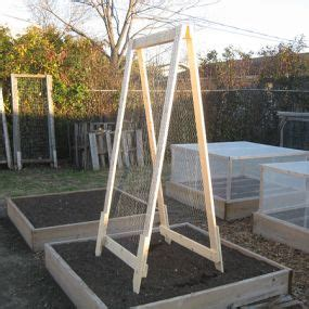 Vegetable Gardening With Mike The Gardener Diy A Frame