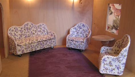 how to make miniature sofa dollhouse decorating make your own dollhouse couch sofa