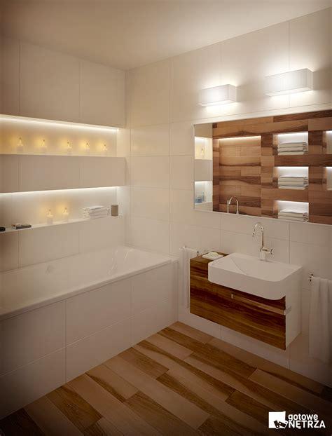 Homedesign by łazienka W Stylu Skandynawskim Z Projektem Gratis Gotowe