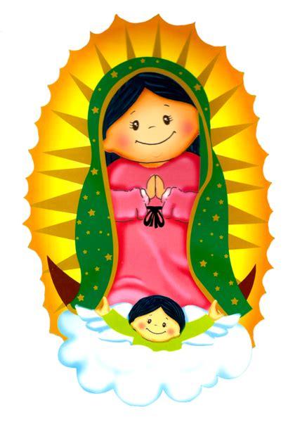 imagenes la virgen de guadalupe en caricatura virgencitaspl imagenes religiosos pinterest sunday