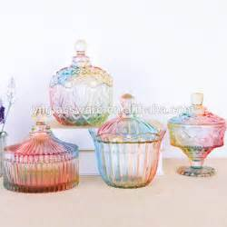 colored glass bowls wholesale colored glass bowl with lid for home decoration