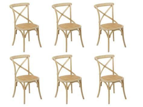 lot 6 chaises pas cher lot de 6 chaises panya pas cher chaises vente unique