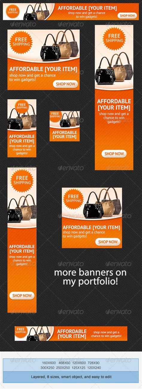 online shopping psd banner ad template beautiful