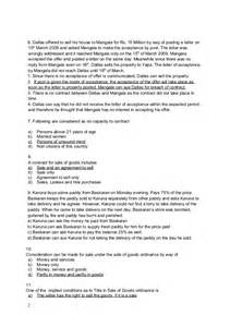 law model paper with answers