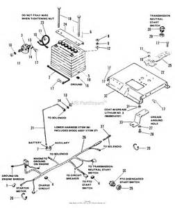 simplicity 1690315 6008 8hp tractor and 36 quot rotary mower parts diagram for electrical