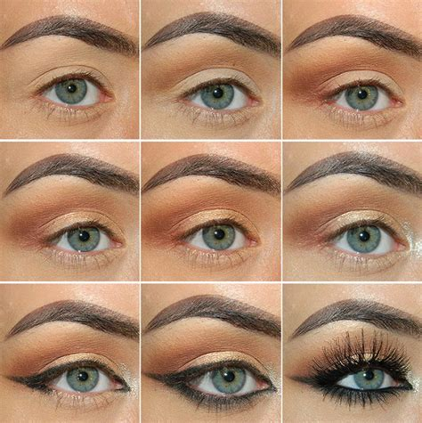 makeup tutorial creating the classic natural eye classic fall makeup tutorial in neutral colors fashionisers