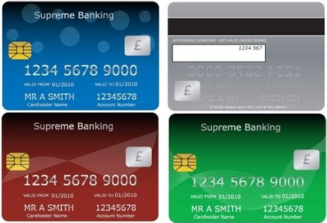 free bank card template bank cards free vector in encapsulated postscript eps