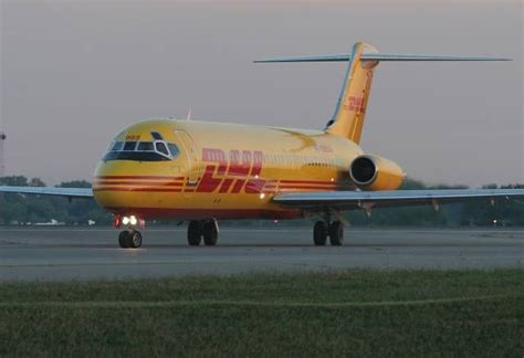 airborne express dhl dc 9 freighter cargo airlines abx air airborne express