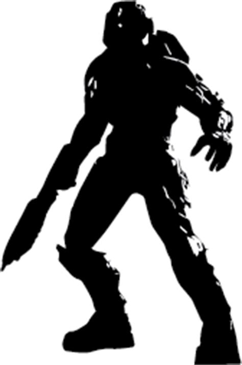 vector halo tutorial master chief clipart clipart suggest