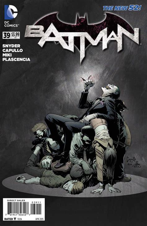 scott snyder talks batman endgame finale post convergence plans nerdist the joker just cut off redacted s hand ign