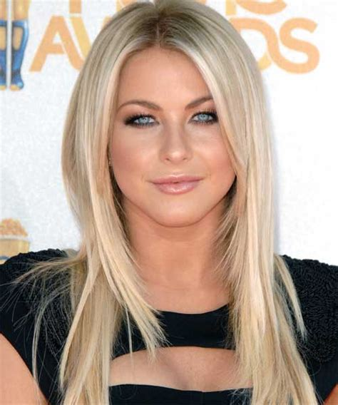 what blonde colour is julianne hough short hair 2014 100 best long blonde hairstyles