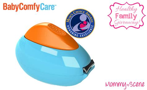 Baby Comfy Care Nail healthy family giveaway our of earth