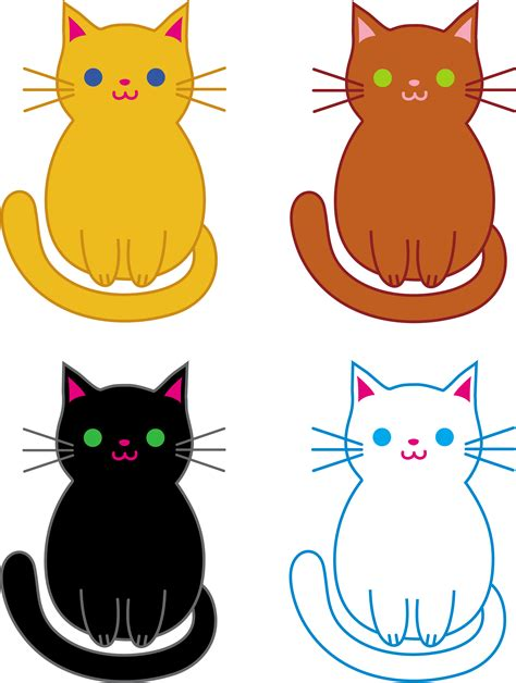 Kitties clipart - Clipground Free Clipart Of Siamese Cats