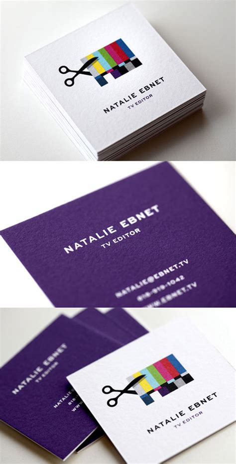 33 creative business card designs colour time printing