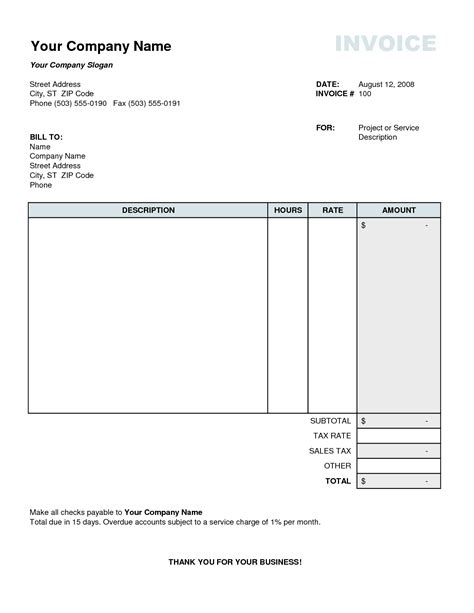 invoice template creative design free invoice templates